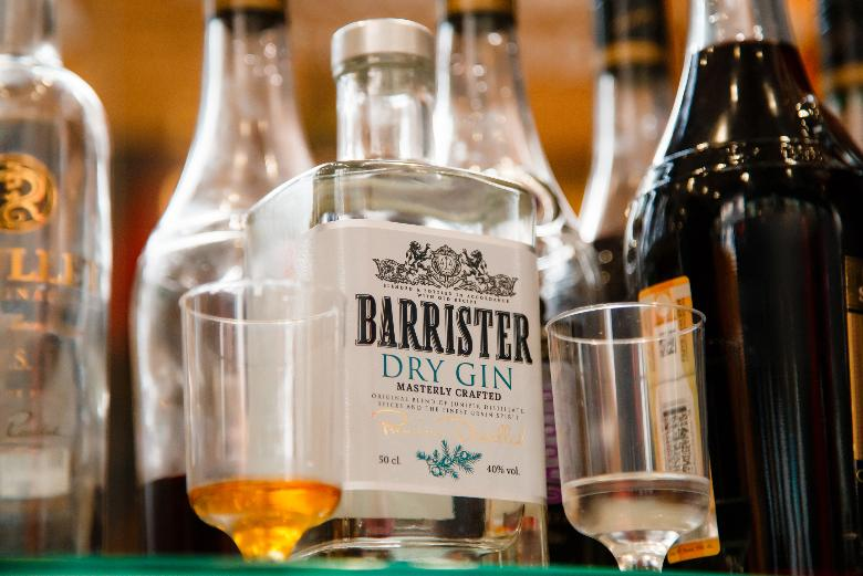 Outstanding success of Barrister gin on the Russian market
